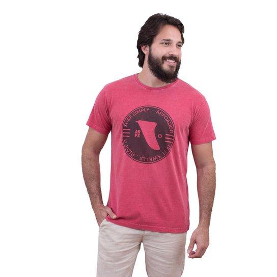 474069c278 Camiseta Limits Laundry Surf Ride RJ Masculina - Vermelho