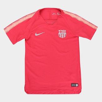 Camisa Barcelona Infantil Treino 2018 Nike e24091f93aa5d