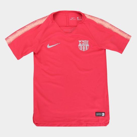 b1812201b7d3b Camisa Barcelona Infantil Treino 2018 Nike - Compre Agora