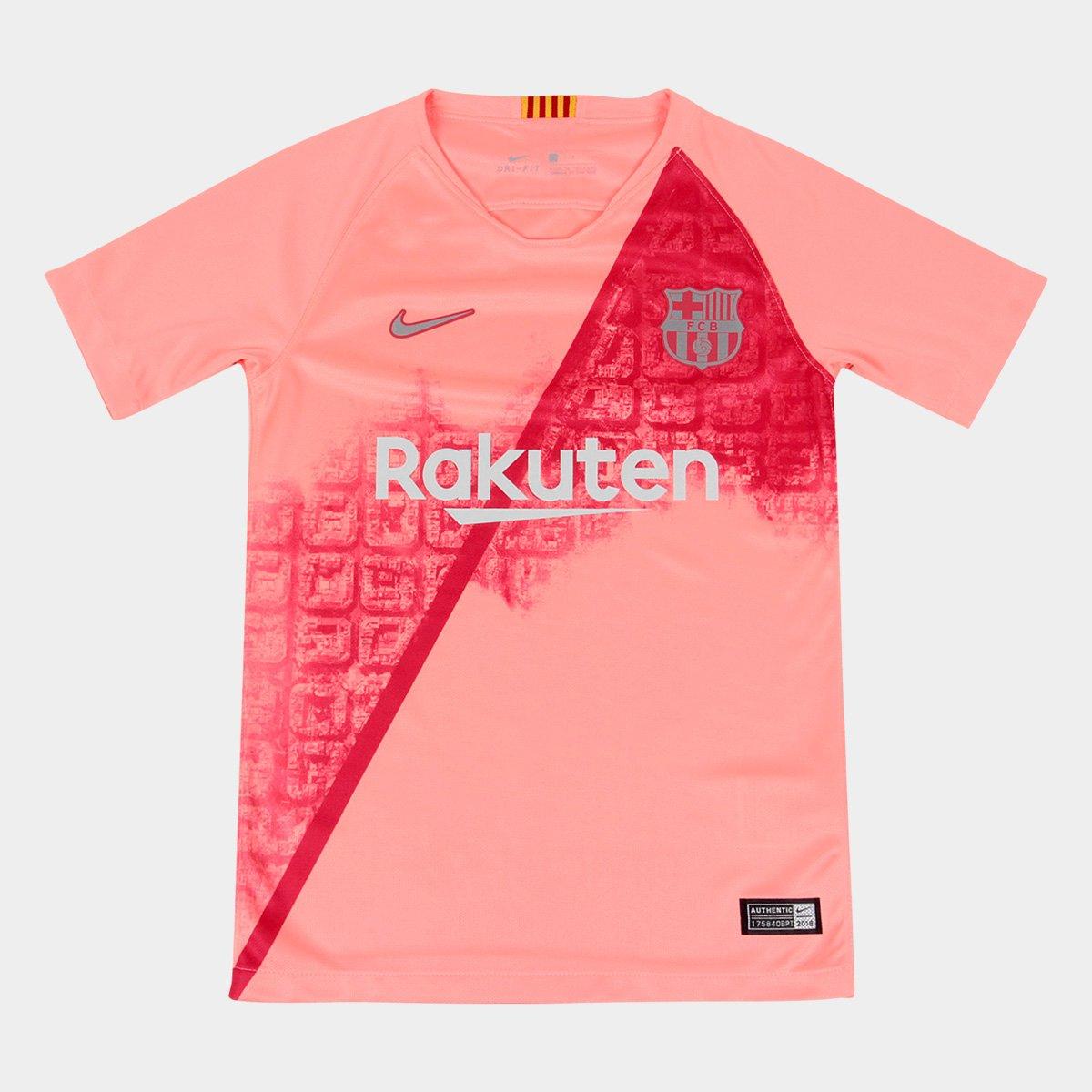 Camisa Barcelona Infantil Third 2018 s n° - Torcedor Nike 98da8c68fe5a8
