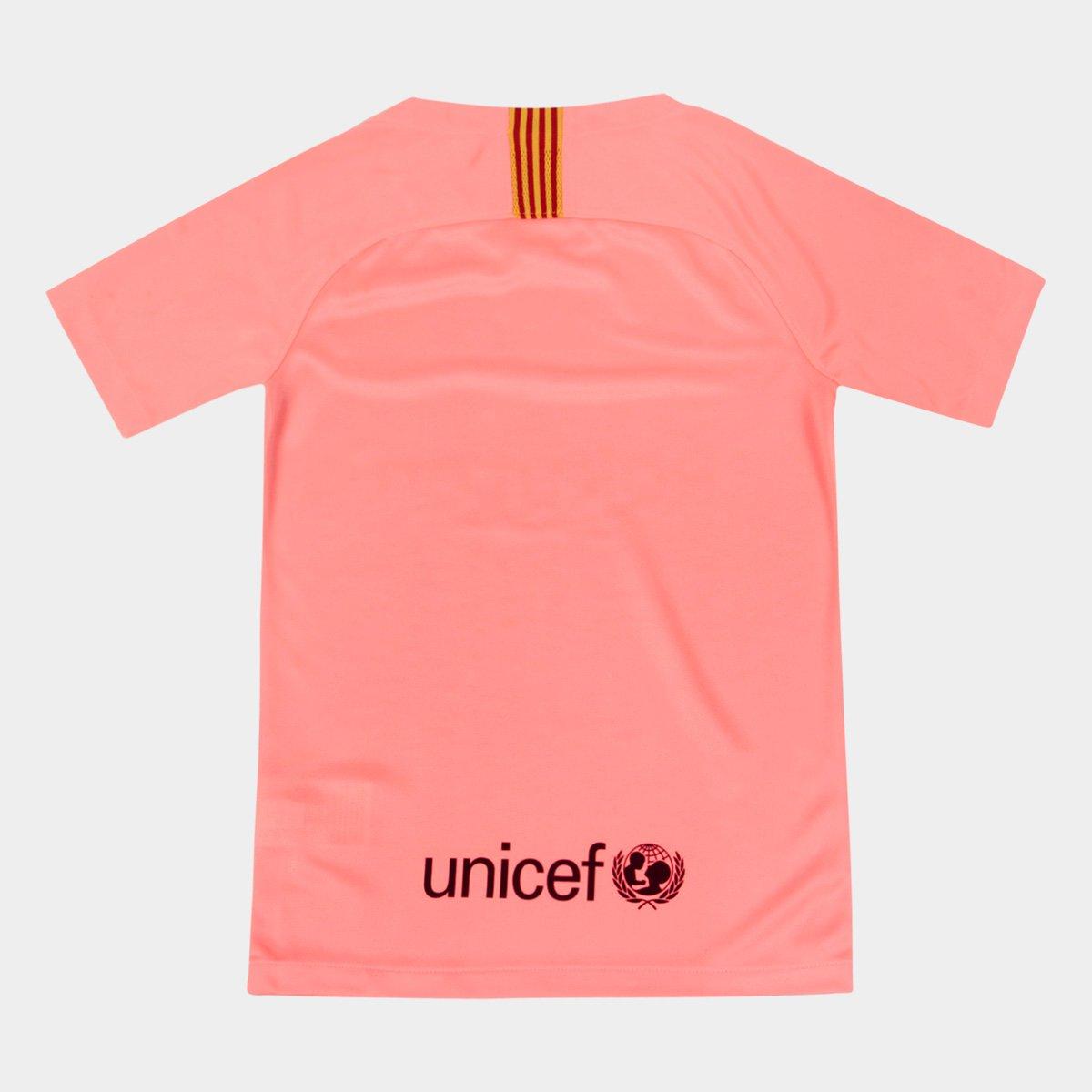 ... Foto 2 - Camisa Barcelona Infantil Third 2018 s n° - Torcedor Nike 9d0855d2ffd36