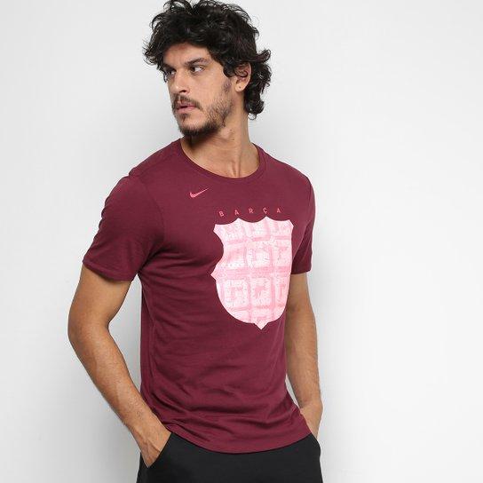 7a06fd82e2d Camiseta Barcelona Tee Hook Nike Masculina - Compre Agora