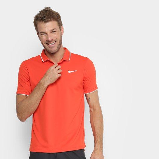 Camisa Polo Nike Dry Team Masculina - Vermelho - Compre Agora  8538438e96d69