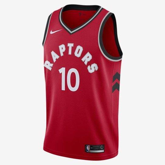 175b283e977eb Camiseta Regata Nike Toronto Raptors Icon Edition Swingman Masculina -  Vermelho