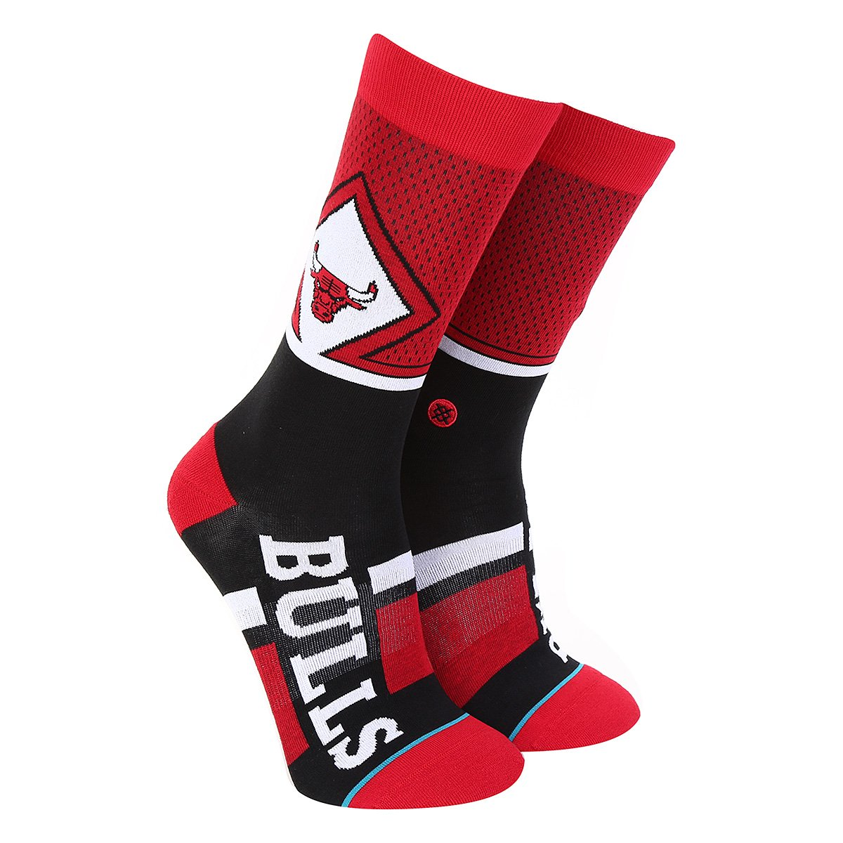 Foto 1 - Meia Stance NBA Chicago Bulls Arena Collection Shortcut Masculina