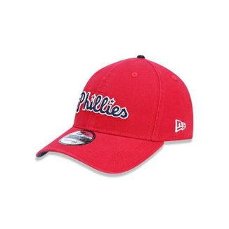 Boné 920 Philadelphia Phillies MLB Aba Curva Strapback New Era 40834683abd