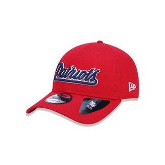 Boné 920 New England Patriots NFL Aba Curva Strapback New Era 772def29ac8
