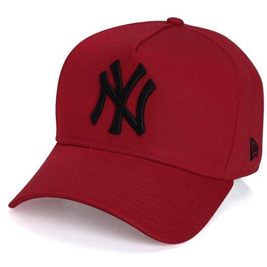 Boné New York Yankees 940 Veranito Logo Vermelho Preto - New Era . b8f8125d14090