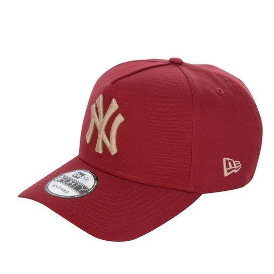 c77041ce78491 Boné New York Yankees 940 Veranito Logo Vermelho Dourado - New Era -  Vermelho