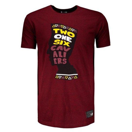 Camiseta New Era NBA Dallas Mavericks Masculina - Vermelho - Compre ... 737c5a5eed30b