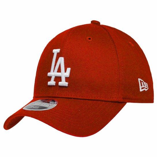b089997f6a Boné New Era Aba Curva Fechado Mlb Los Angeles Colors - Vermelho ...