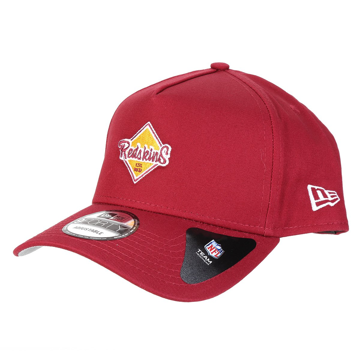 Boné New Era NFL Washington Redskins Retro Aba Curva