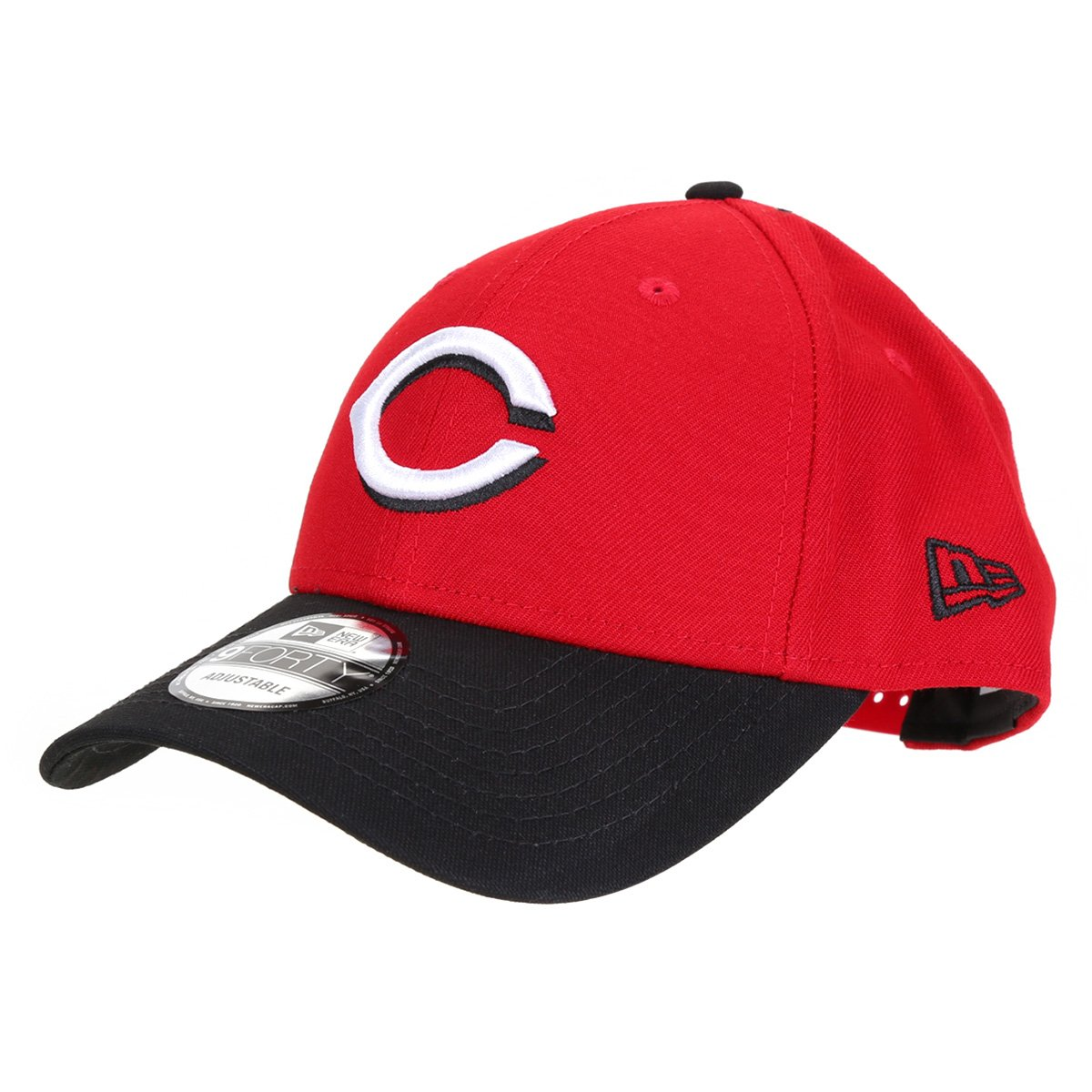Boné New Era MLB Cincinnati Reds Aba Curva Snapback Masculino