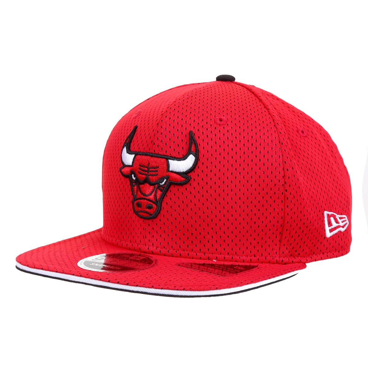 Boné New Era NBA Dance Scene Chicago Bulls Aba Reta Strapback