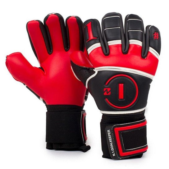 45db3c0aabf Luva de Goleiro Profissional N1 Beta Elite Red Shadow - Vermelho ...