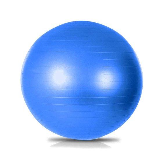 Bola Suíça Pilates 65 cm GymBall Ginástica Natural Fitness - Vermelho 145d3a45be639