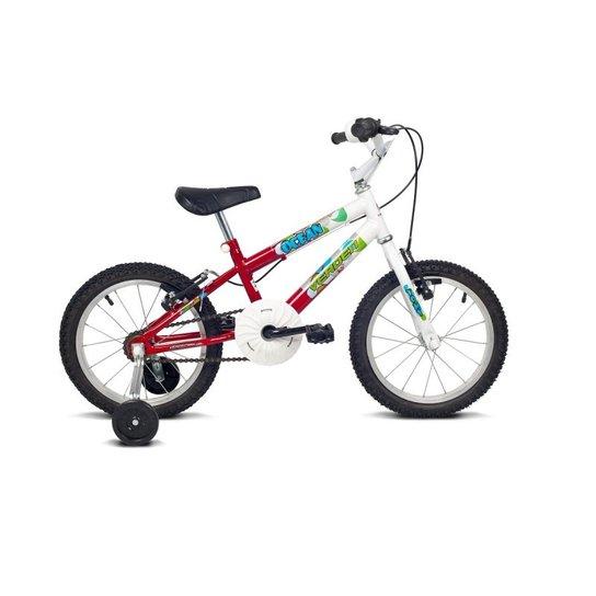 8102a28c6 Bicicleta Infantil Aro 16 Verden Bikes Ocean - Vermelho