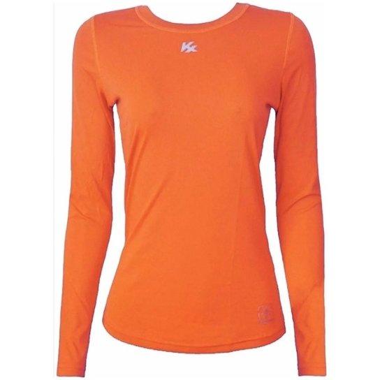 Camisa Térmica Kanxa Infantil Proteção Solar - Laranja Escuro ... e62a0ce3c3570