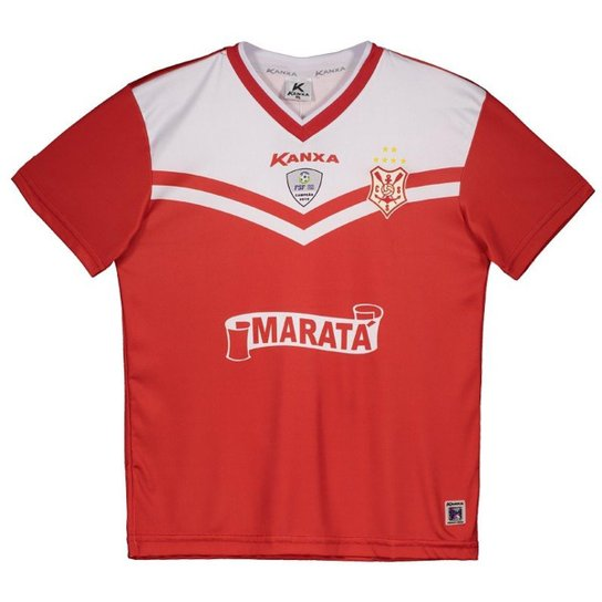 96a9bdfc3 Camisa Kanxa Sergipe I 2017 Infantil com Número Masculina - Compre ...