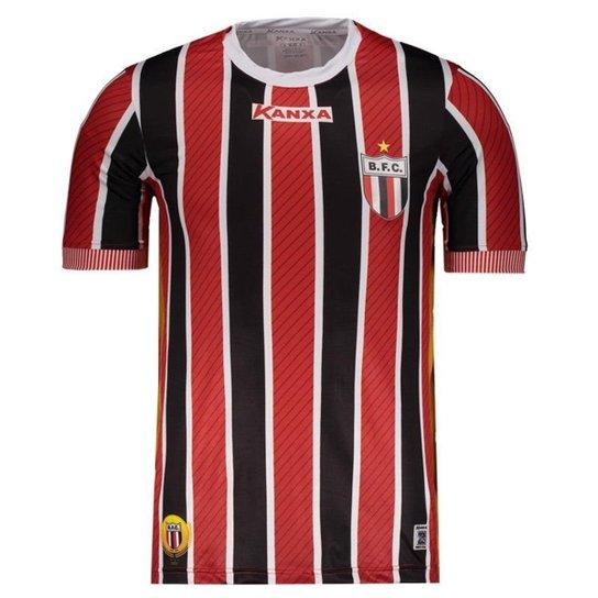 7c393fecd9 Camisa Kanxa Botafogo SP II 2018 Masculina - Vermelho - Compre Agora ...