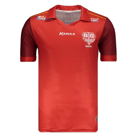 c07a644bd Camisa Kanxa Grêmio Osasco Audax I 2018 Masculina - Vermelho