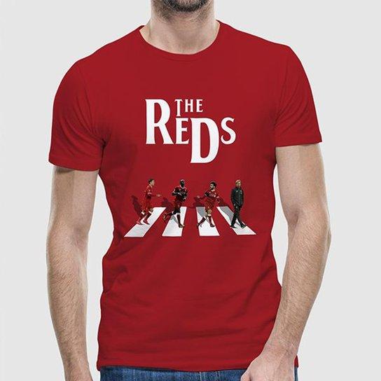 Camiseta Liverpool The Reds Masculina - Vermelho - Compre Agora ... 66be6be95f848