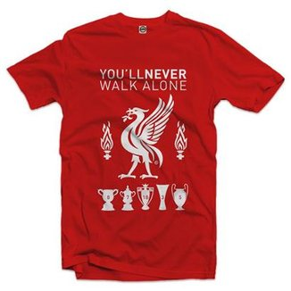 Camiseta Liverpool You'll Never Walk Alone Masculina