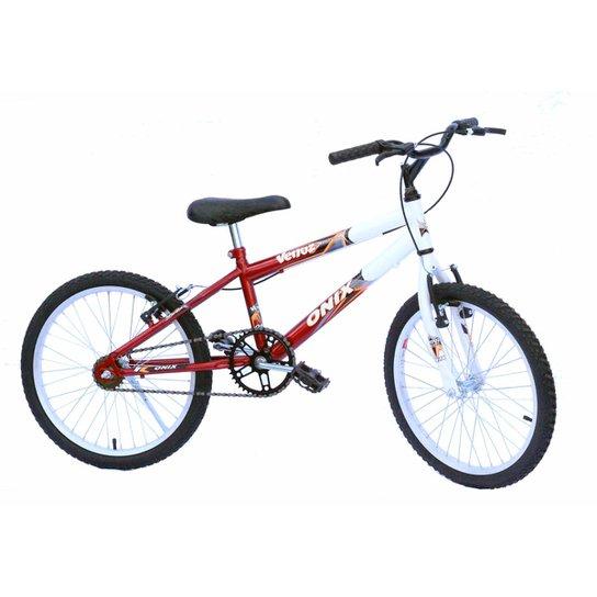 2a65aad29cd94 Bicicleta Aro 20 Mtb Onix Convencional - Vermelho   Netshoes