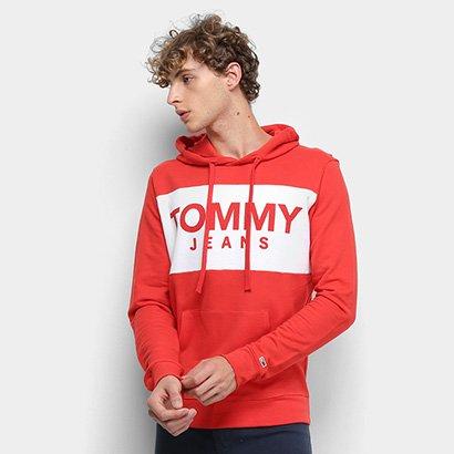 Moletom Tommy Jeans Estampado Masculino