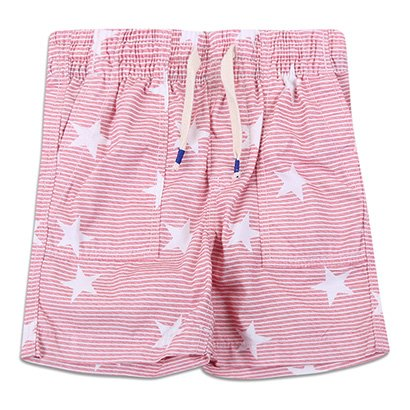 Shorts Infantil Gap Malha Estampado Masculino