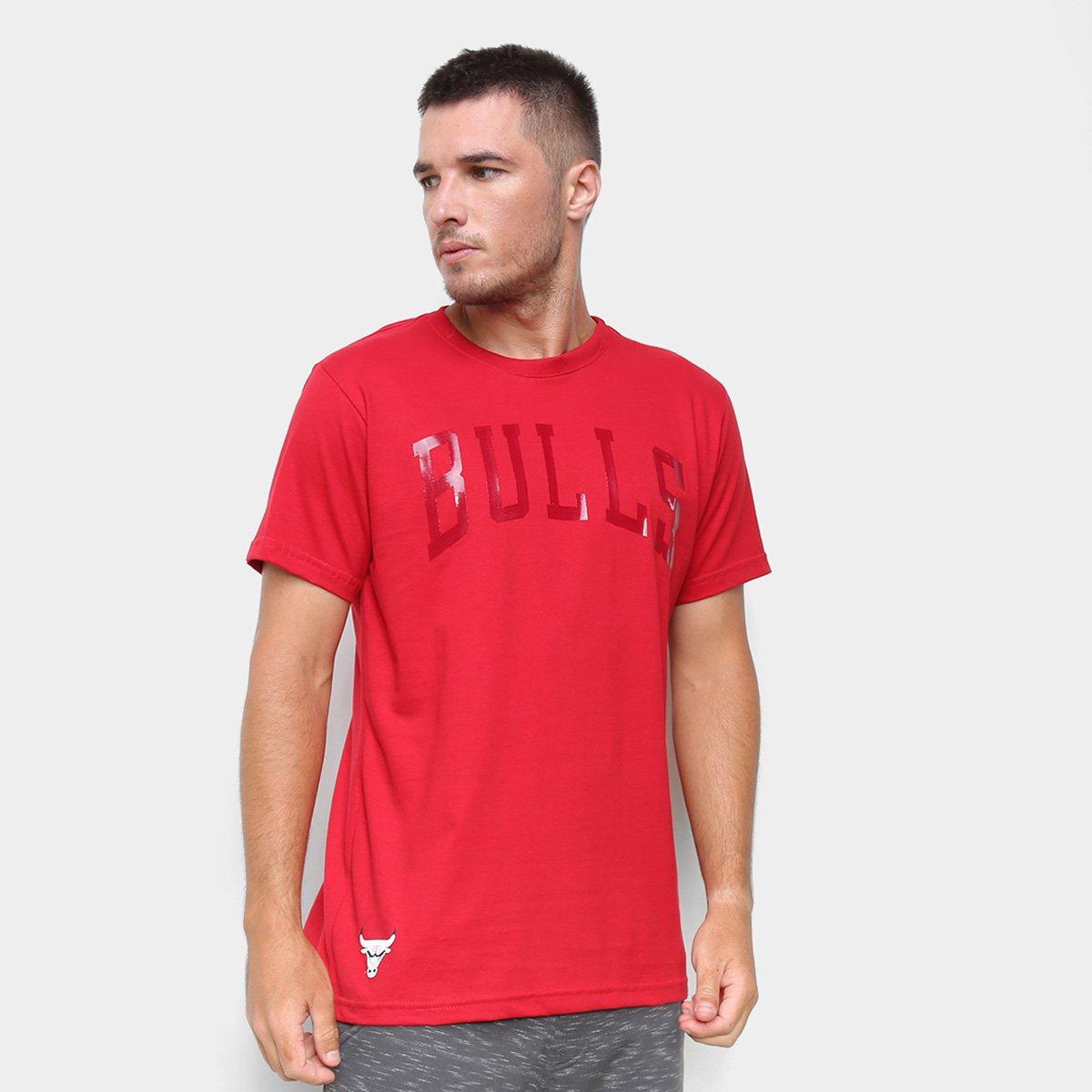 Camiseta NBA Chicago Bulls Gel Masculina