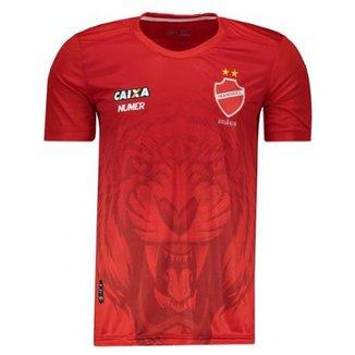 435b889556 Camisa Numer Vila Nova Pré Jogo 2018 Masculina