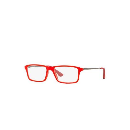 1572331be Armação de Óculos Ray-Ban Masculino - Vermelho | Netshoes