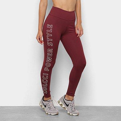 Calça Legging Colcci Fitness Estampada Power Feminina