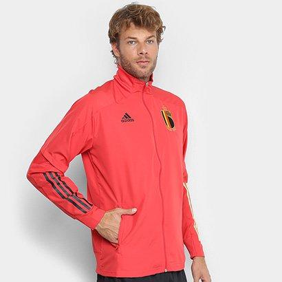 Jaqueta Seleção Bélgica 20/21 Adidas Treino Masculina