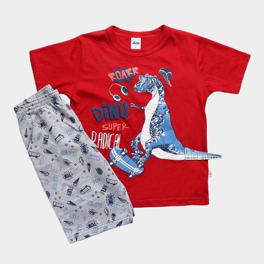56470daa78 Conjunto Infantil Elian Camiseta e Bermuda Masculino - Compre Agora ...