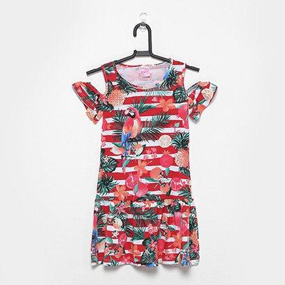 Vestido Infantil For Girl Araras