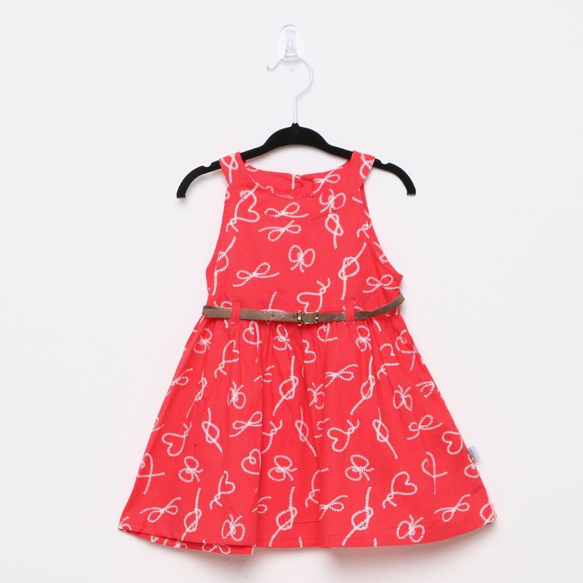 Foto 1 - Vestido Infantil Rovitex Cinto Lacinhos