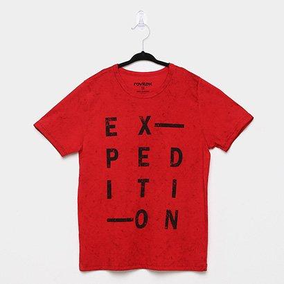 Camiseta Infantil Rovitex Degradê