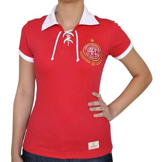 2ebb8d5b8d0 Camisa Retrô Mania Feminina América Centenário - Compre Agora
