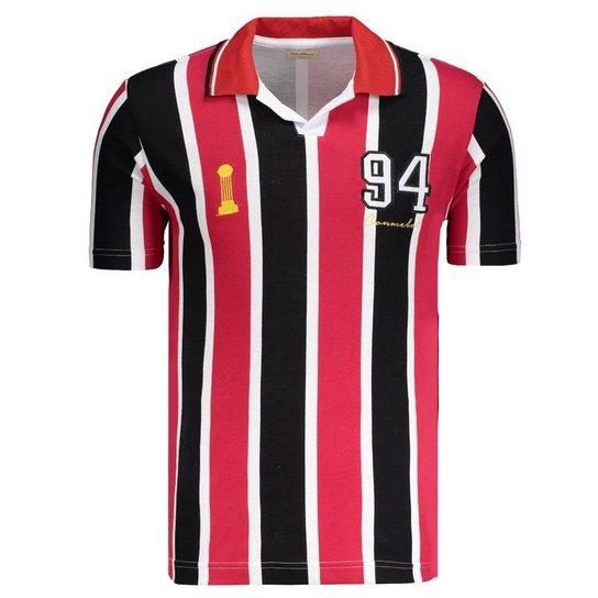 Camisa Retrômania São Paulo 1994 - Vermelho - Compre Agora  41aaeae2d0627