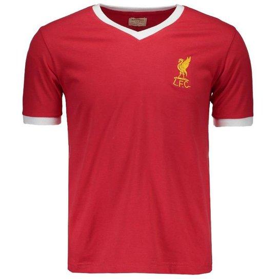 Camisa Retrômania Liverpool 1978 Masculina - Vermelho - Compre Agora ... 7b62947d90b3b