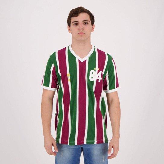 Camisa Retrô Fluminense 1984 Masculina - Vermelho - Compre Agora ... 6200560bc29d5