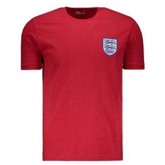 87f24f3846 Camisa Inglaterra Retrô I 1966 Masculina