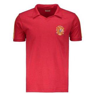 012112fa42 Camisa Retrô Espanha 1986 Masculina