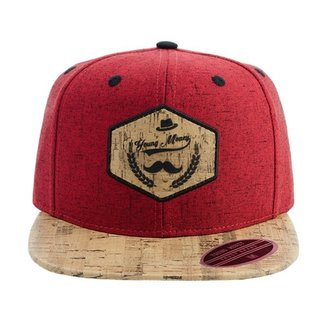 Bone Aba Reta Young Money Snapback Moustache e8c30d5578e