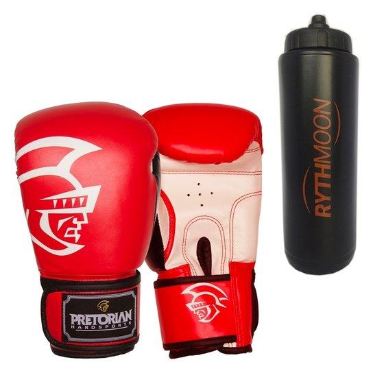 8c20cd8e8 Kit Luva De Boxe Pretorian Training Vermelha 16Oz - Vermelho