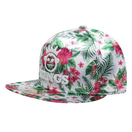 5338176e02 Boné Kings Sneakers Tropical Flowers - Compre Agora