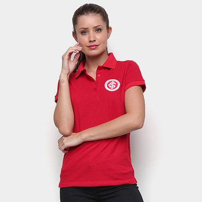 Camisa Polo Internacional Escudo Feminina