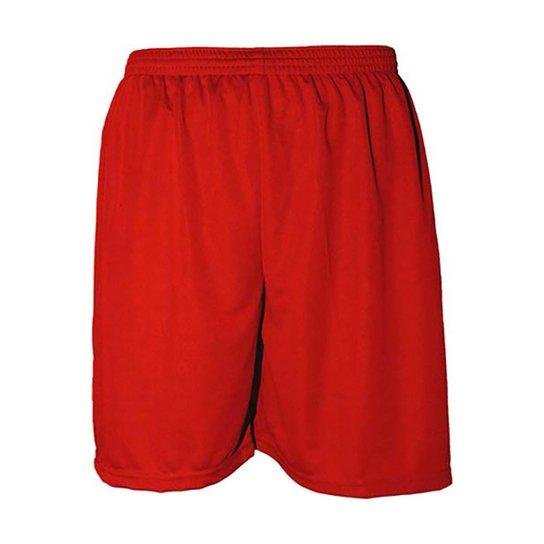c9ec3d92db Calção Futebol Kanga Sports Masculino - Vermelho - Compre Agora ...